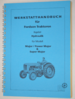 Werkstatthandbuch Kapitel Hydraulik Major, Power Major und Super Major
